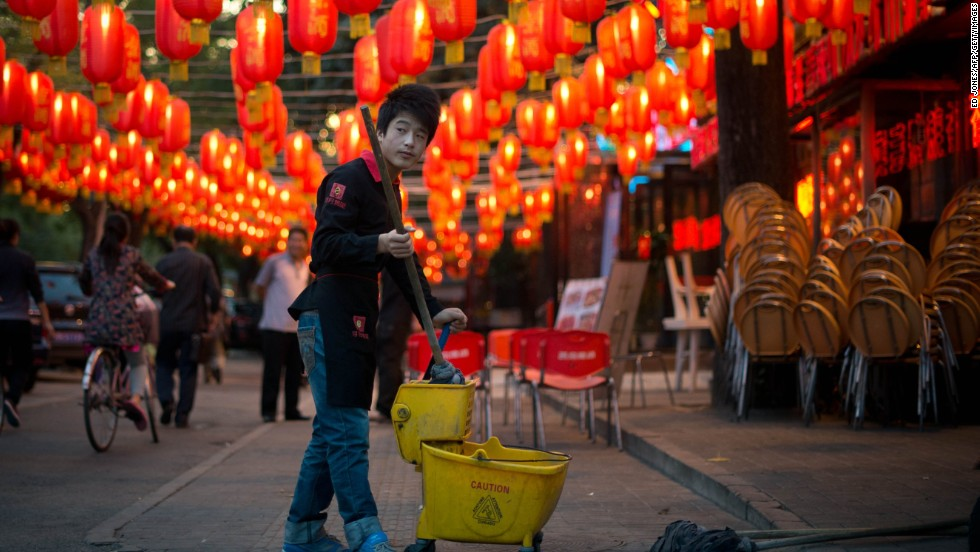Lunar New Year custom forbids cleaning -- it's believed to sweep away good luck. Finally, the perfect excuse to slob out.
