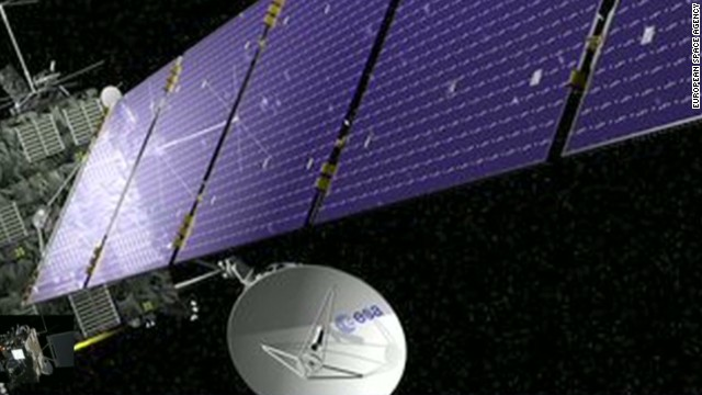 Comet-chasing spacecraft 'wakes up'