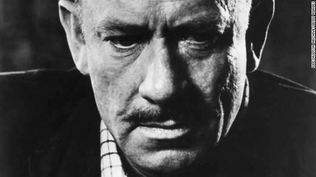 American author John Steinbeck (1902 - 1968) pictured around 1955.