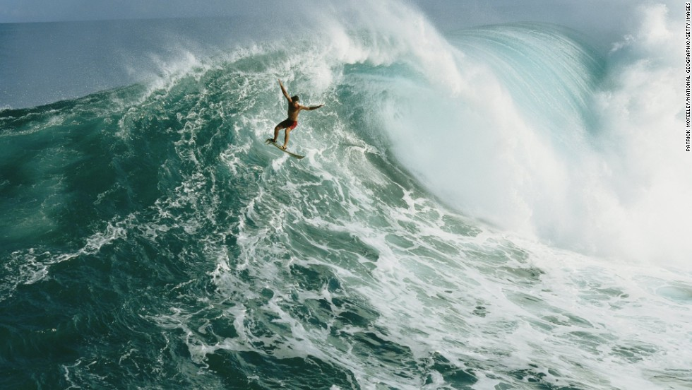 Jaws on Maui, the most iconic big wave reef break on the Hawaiian Islands, gets its name from the legendary ferocity of its waves, which can reach an unbelievable 78 feet in winter, when strong winds create monster swells.