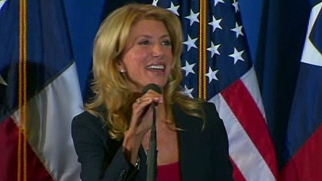 Details blurry in Wendy Davis' life story