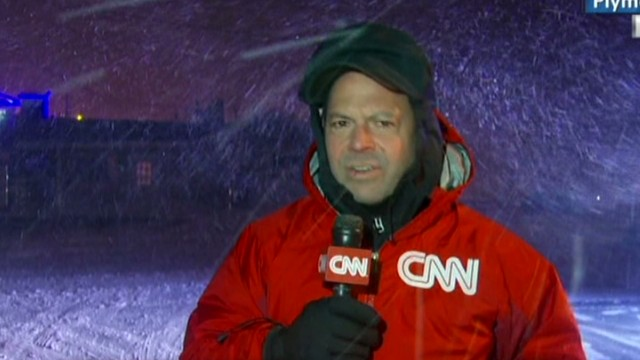 Meteorologist embraces the cold
