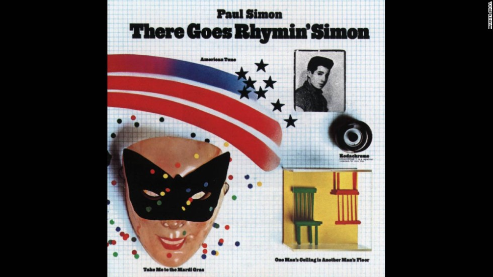 "In addition to having a catchy title, ""There Goes Rhymin' Simon"" by Paul Simon debuted in 1973 to the delight of music lovers. It remains one of Simon's best received projects."