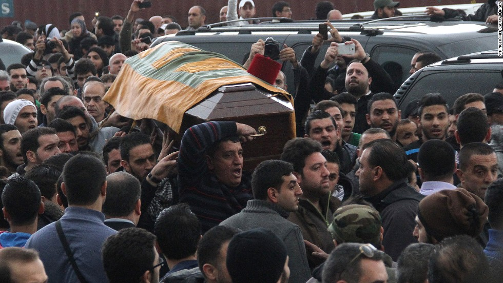 """Chaar died from his wounds, and it wasn't long before he was branded a """"martyr."""" But many younger Lebanese, sick of the constant violence in their country, were outraged by the label."""