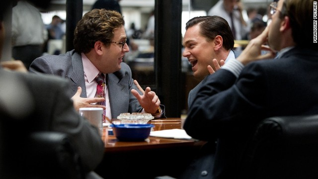 Jonah Hill made WHAT in 'Wolf' role?