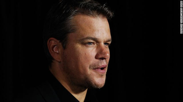SYDNEY, AUSTRALIA - AUGUST 12: Matt Damon arrives for the 'Elysium' Australian premiere at Event Cinemas George Street on August 12, 2013 in Sydney, Australia. (Photo by Brendon Thorne/Getty Images)