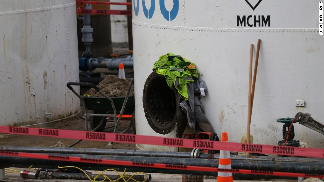 The second chemical also escaped from the same tank that leaked on January 9 outside Charleston, West Virginia.