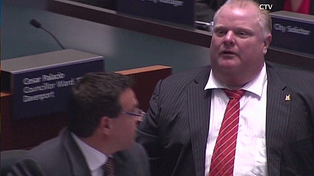 House of Cards Exec. Prod on Rob Ford