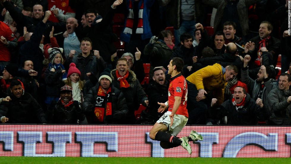 But just 60 seconds later Javier Hernandez's goal with almost the last kick of the match rescued Manchester United and sent the tie to penalties.