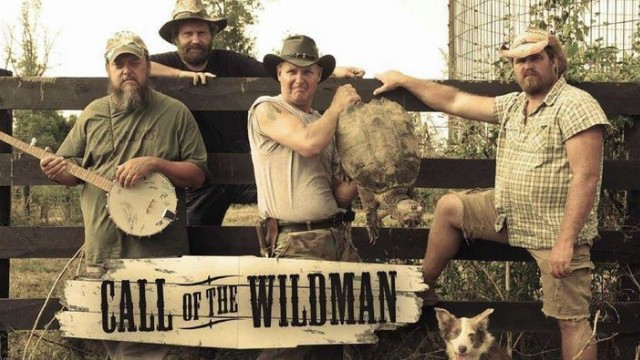 "Screen grab from ""Call of the Wildman"" show on Animal Planet."