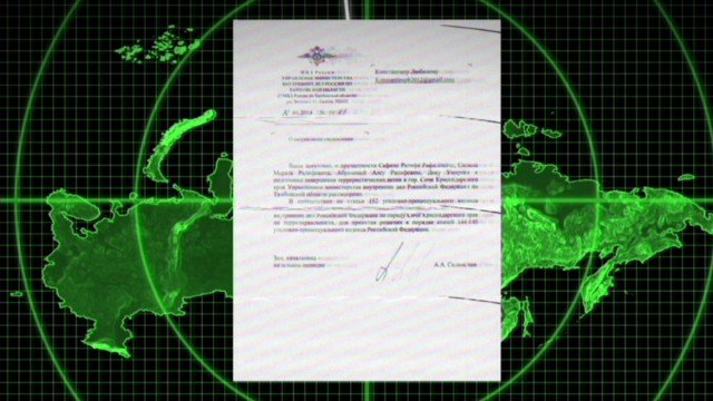 E-mail threatens Sochi Olympics