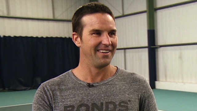 Pat Rafter grooms the next generation