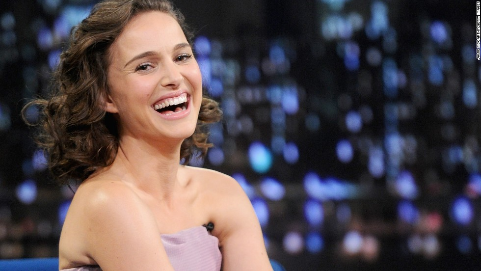 "Actress Natalie Portman, who was born Neta-Lee Hershlag in Jerusalem, was raised in a Jewish household in Long Island, New York. Now she jokes that ""like, every Jewish role comes to me."""