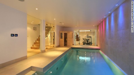 Swimming pools and golf ranges in London's insane luxury basements