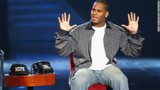 R. Kelly, here in 2004, won't be performing at an Ohio music festival after protests prompted organizers to drop him.