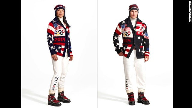 U.S. Winter Olympics uniforms