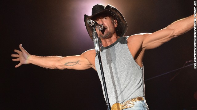Tim McGraw puts on an energetic show. One fan may have been too energetic in return.