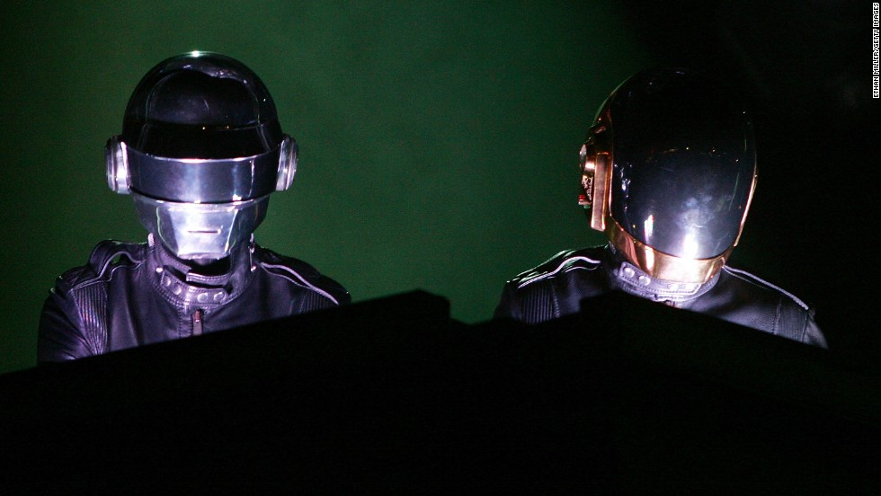 "<strong>Daft Punk. </strong>The pair took their name <a href=""http://www.complex.com/music/2013/05/read-the-review-that-gave-daft-punk-their-name"" target=""_blank"">from a negative review of their former band, Darlin. </a>"