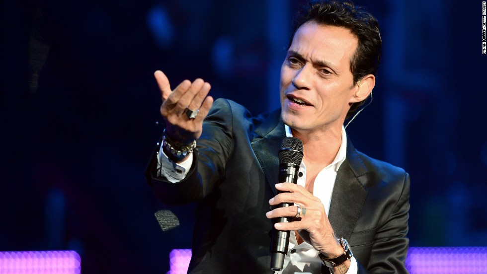 <strong>Marc Anthony, </strong>an Americanized version of his birth name.
