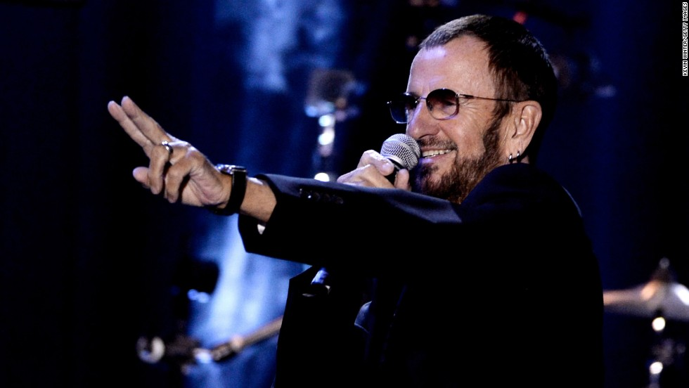 "<strong>Ringo Starr. </strong>The Beatles member <a href=""http://ultimateclassicrock.com/ringo-starr-stage-names-origins/"" target=""_blank"">reportedly was called ""Ringo"" because of the rings he wore</a>. Starr is a shortened version of his last name and, of course, what he has become."