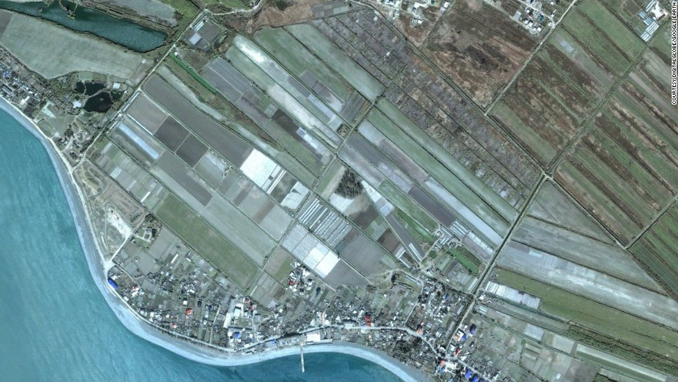 "The satellite image company DigitalGlobe and Google Earth have provided a look at the transformation of the location of the Winter Games in Sochi, Russia.  Look at how the area, known as the ""Coastal Cluster"" has been transformed for the games. Here you can see the area where the Olympic Village will be built as it it appeared in April 2005."