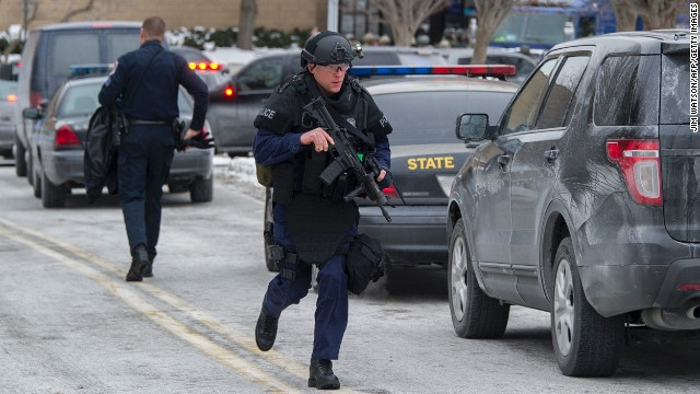 Police search for mall shooter's motive