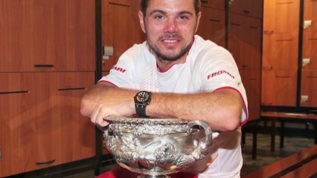 Wawrinka wins Australian Open