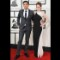 10 grammys red carpet -  Andy Caldwell and Esme Bianco