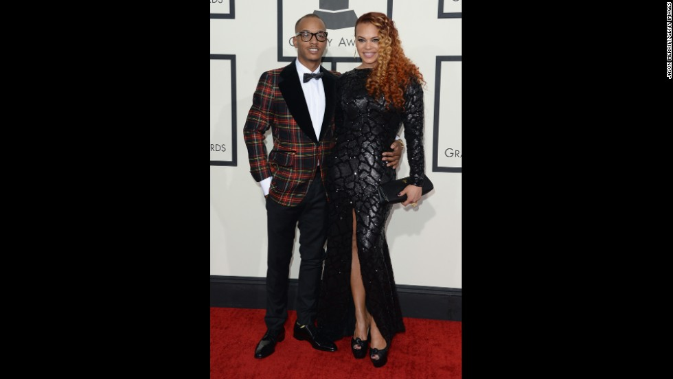 Lamar Edwards and Faith Evans