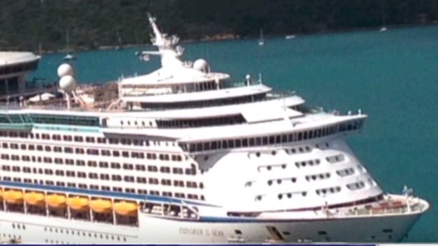 Over 300 sickened on cruise ship