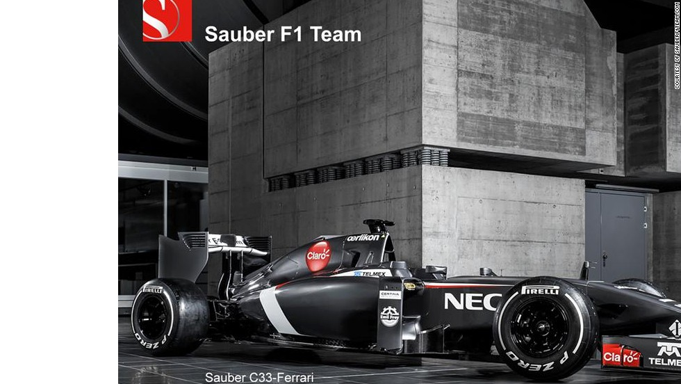 "Sauber revealed its new car and the Swiss team said in a statement: ""Perhaps the most visually striking element of the Sauber C33-Ferrari is the very low, snout-like nose."""
