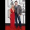 40 grammys red carpet - Miranda Lambert and Blake Shelton