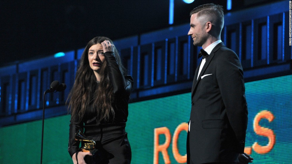 "<strong>Song of the year: </strong>""Royals"" by Lorde. The song also won best pop solo performance."