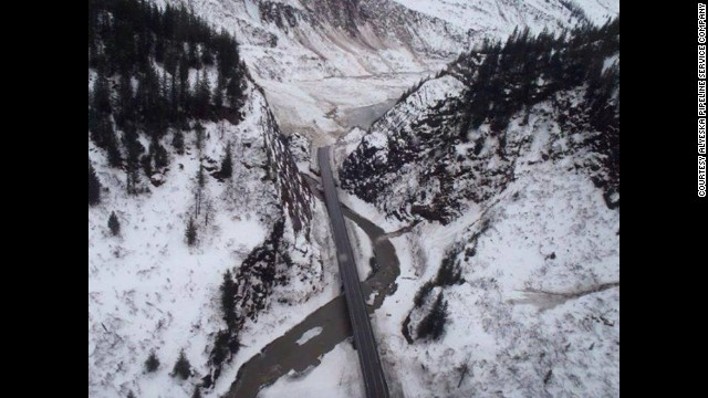 Avalanches at Snow Slide Gulch in Keystone Canyon in Alaska has closed a portion of Richardson Highway.  The highway is expected to be closed for at least one week, but possibly longer according to the Alaska Department of Transportation.
