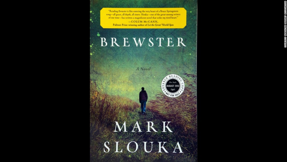 """Brewster,"" written by Mark Slouka, is one of 10 books to win the Alex Award for best adult book that appeals to teen audiences."