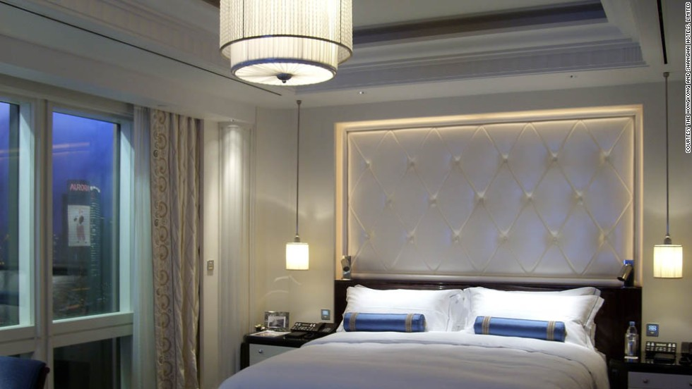 The mock-up rooms are tested for up to a year before the designs are released for building in the properties. The process starts with an artist's rendering, such as this one, of a Deluxe Room at The Peninsula Shanghai, which opened in 2009.