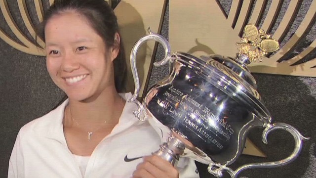 Li Na wins 'dream' trophy