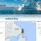 travel sites - iceberg finder