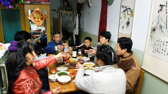 During CNY, millions of families reunite to eat, drink and eat, drink some more.