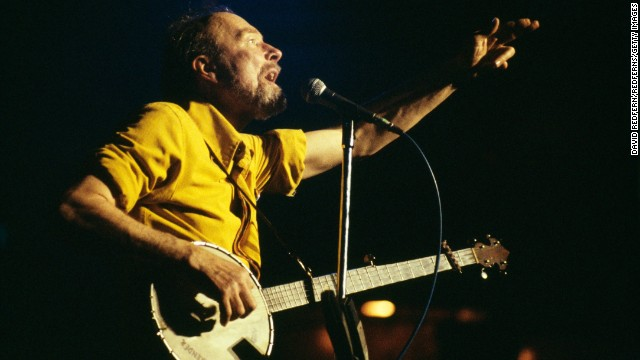 Folk legend Pete Seeger