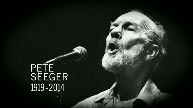 Folk icon Pete Seeger dies at 94
