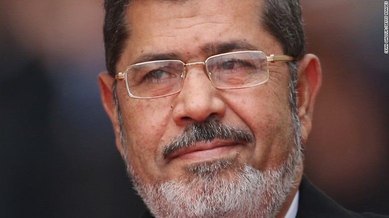 Egyptian President Mohamed Morsy had been sentenced to death over a jailbreak during the 2011 Arab Spring.