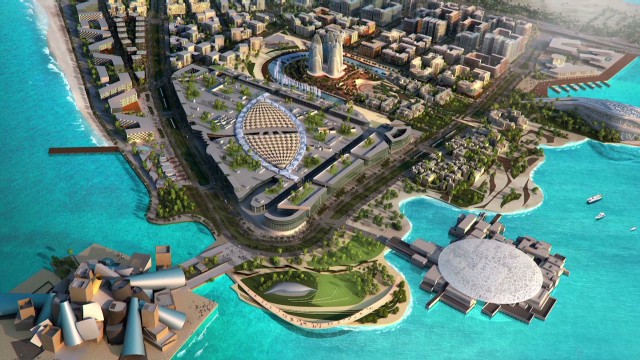 UAE island rises from sand
