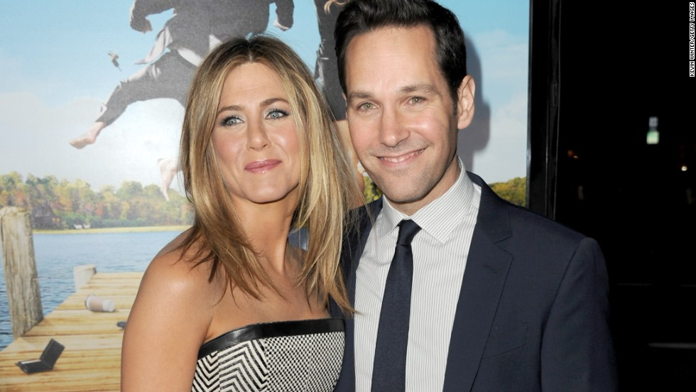 "Jennifer Aniston's friendship with Courteney Cox gets all the attention, but she's just as cool with Rudd. The two met as budding thespians in Los Angeles and then got to know each other better with 1998's ""The Object of My Affection."" By the time they got around to co-starring together again in 2012's ""Wanderlust,"" Aniston and Rudd could call each other old friends."