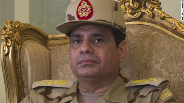 El-Sisi: I will end Muslim Brotherhood