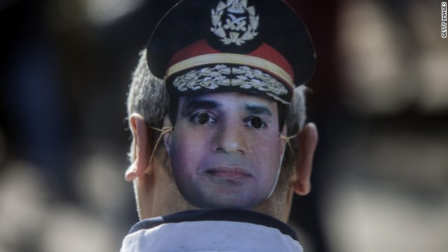 "Egypt suppressing ""any voice of dissent"""