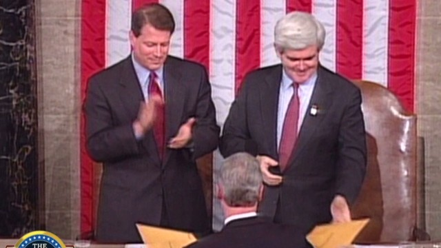 ac Gingrich state of the union clinton note_00001907.jpg
