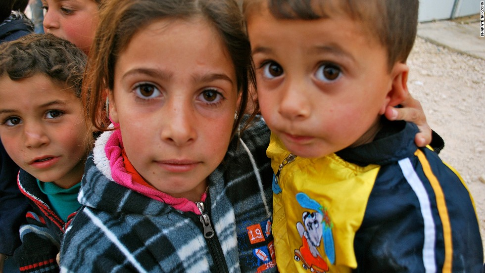 Roughly half of Zaatari's residents are children -- and 42% of families in the camp are led by a female head of household.