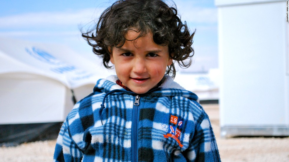 There are three schools in Zaatari, but only about 20% of the children attend class.