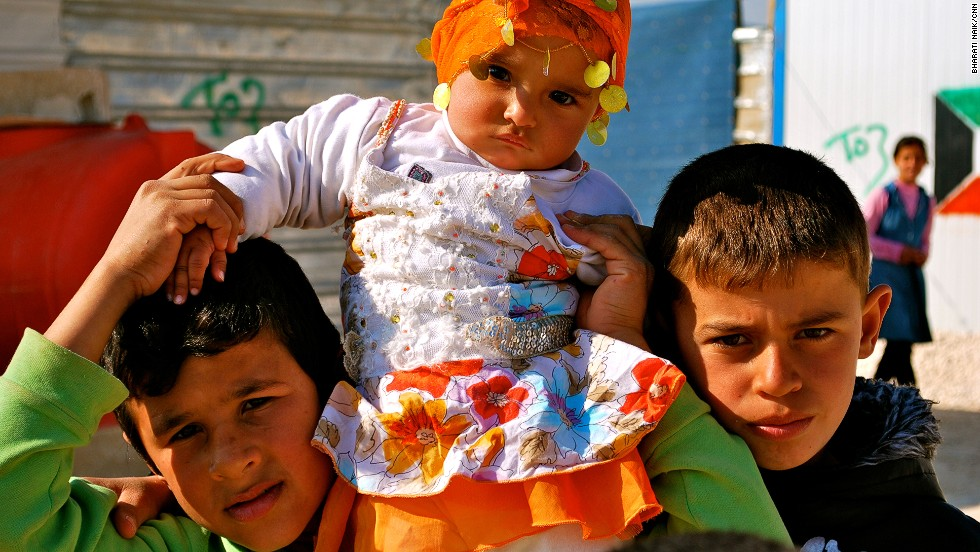 There are more than 23,000 children in Zaatari. Thousands more are expected to arrive in the coming year.